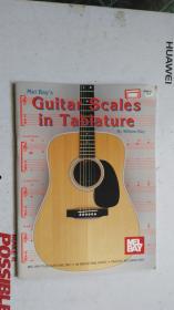 老乐谱  英文原版  MEL BAYS Guitar Scales i Tablature  梅尔湾的吉他音阶