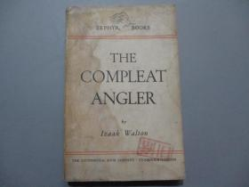 民国英文原版:The Compleat Angler 钓客清话