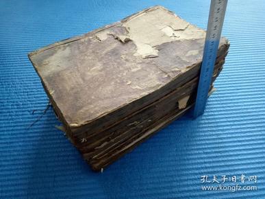 清早期木刻版——春秋左传杜林真本(10册)——不议价