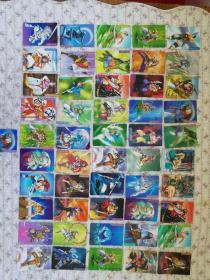 统一小浣熊《水浒英雄传》卡片.41张合售.不重复、品佳
