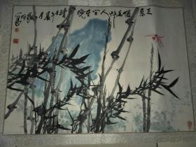 北京著名画家姜守垣老师国画作品一副