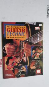 老乐谱  英文原版   MEL BAY PRESENTS GUITAR TECHIC  梅尔湾推出吉他技术