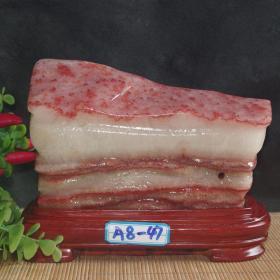 """奇石原石,象形猪肉原石,""""猪肉""""""""""""新鲜猪肉""""猪肉奇石""""大自然的神奇造化,稀有罕见,难得一见收藏佳品佳品"""
