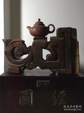 精美,清代木雕,老房子小牛腿构件