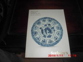Sotheby's 纽约苏富比2015年【重要的中国瓷器和工艺品】