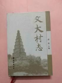 海南资料本《文大村志》32开硬精装本