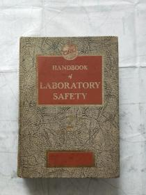 HANDBOOK of LABORATORYSAFETY 实验室安全手册