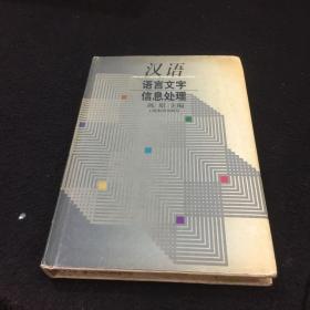 汉语语言文字信息处理