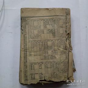 增篆中华字典(康熙字典)有对方收藏印鉴子集丑集有轻微破损,缺戊集下和亥集