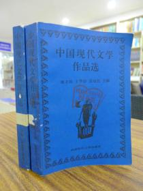 中国现代文学作品选(上下 两册合售)——康立民/王华益/张毅民 主编