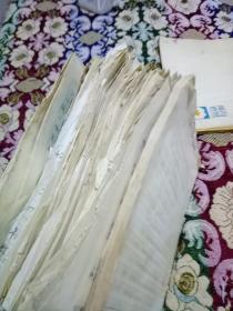 林业专家、湖南省林业厅彭德纯手稿一摞