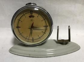 金鸡牌机械老闹钟全铜机芯上弦台钟正常走时老物件收藏