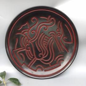 漆器盘 古典漆器盘