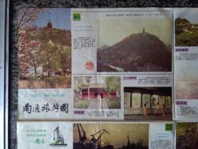 南通旅游图(1988年