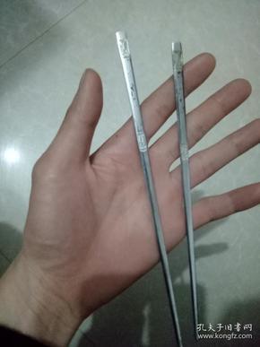 老筷子,有雕刻花纹