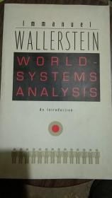 WALLERSTEIN WORLD-SYSTEMS ANALYSIS