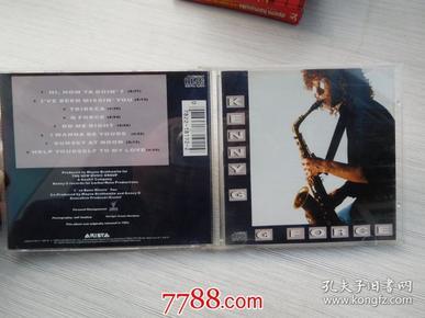 肯尼吉 萨克斯风的魔力(老CD碟片1盘, 详见书影,发货前都会试听的,保证可以正常播放)