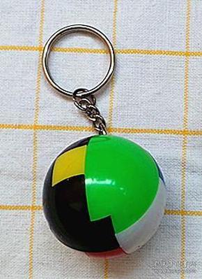上世纪九十年代益智拼球钥匙链