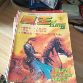 全新画王大书1994年9-24  93年4-8  试刊1-3 新画王2.3 5-10 11.13合售