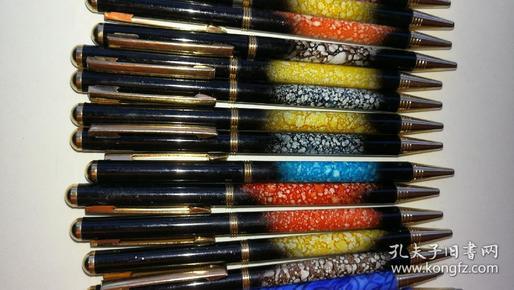 23支台湾产金属圆珠笔,库存全新