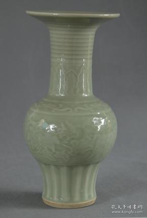 清代瓷瓶 编号40
