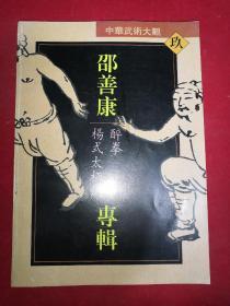 中华武术大观(九)邵善康专辑:醉拳、杨式太极剑