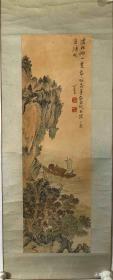 溥儒 纯手绘 国画(卖家包邮)工艺品