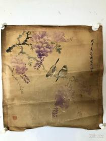 孔小瑜 纯手绘 国画(卖家包邮)工艺品