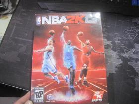【游戏光盘】NBA2K13【中英文版】【一张光盘+一张游戏说明】
