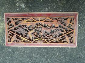 潮州木雕,扇面雕刻