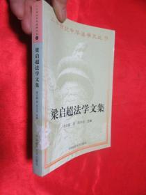梁启超法学文集    【二十世纪中华法学文丛(13)】