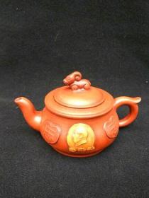 收藏多年的文革紫砂壶古玩po