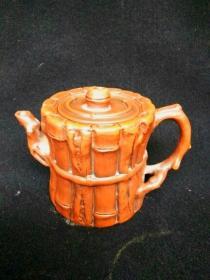 收藏多年的文革紫砂壶古玩py