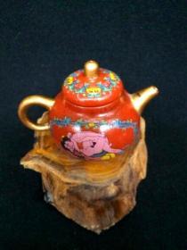 收藏多年的文革紫砂壶古玩pu