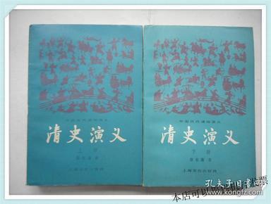 中国历代通俗演义:清史演义 上下册