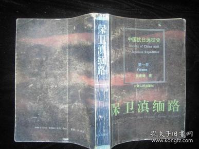 中国抗日远征史 第一卷 保卫滇缅路