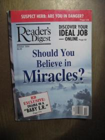READERS DIGEST 2000年10 读者文摘