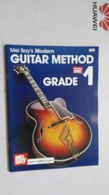 老乐谱 英文原版  Mel BayS Modern GUITAR METHOD GRADE 1 梅尔湾现代吉他方法1级