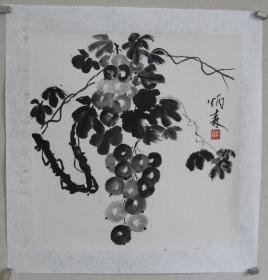 中国书法家协会副主席、中国文联副主席、刘炳森《国画》