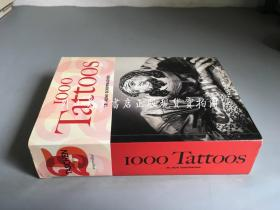 1000 tattoos(文身1000 铜版纸彩印)