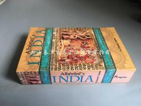 Alberunis India:an account of religion,philosophy,literature,geography,chronology,astronomy,customs,laws and astrology of India about A.D 1030(阿尔贝鲁尼的印度:公元1030年对宗教、哲学、文学、地理、年表、天文学、风俗、法律和占星学的记述)