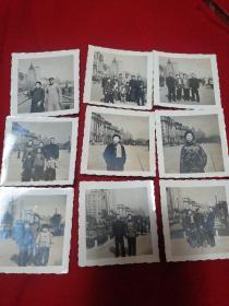 62年上海外滩照片9张