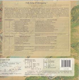 重庆母城老地图(英文)