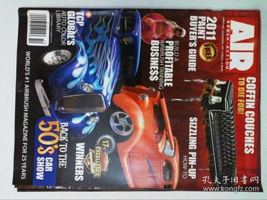 AIR BRUSH-ACTION 车 美女 纹身艺术杂志 过期杂志 2010年09-10月