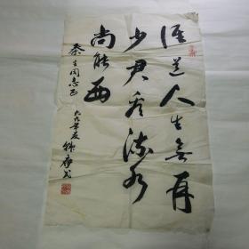中国老年书画研究会理事韩应民书法
