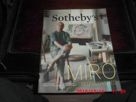 苏富比 sothebys  2014   拍卖通讯