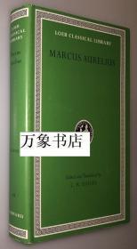 Marcus Aurelius  古罗马皇帝 奥勒留  沉思录 1册全  Loeb Classical Library 洛布版 希-英对照  精装本带封套 私藏品上佳