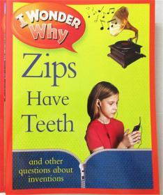 平装 i wonder zips have teeth 我不知道拉链有牙齿
