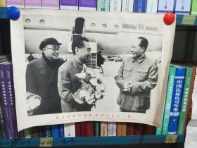 毛主席和周总理、朱委员长在一起  一版一印