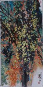 著名畫家、寧夏美協會員 王 彥俊 水墨畫作品《初夏》一幅(紙本軟片,約8平尺;作品由《中國美術市場報》直接得自于藝術家本人) HXTX100788